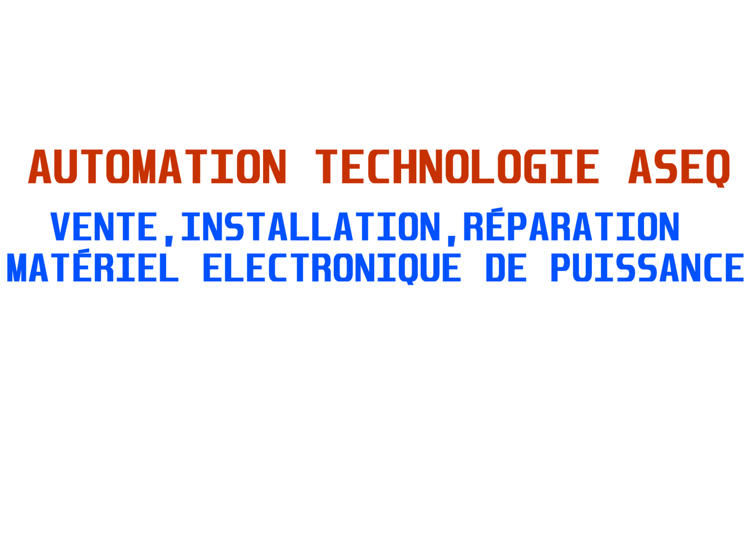 Automation technologie ASEQ